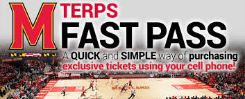 instant mobile ticket purchasing maryland terrapins athletics