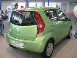 green opal car file opel agila ii rear psm 2009 jpg wikimedia commons