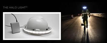 halo hard hat light illumagear showcasing the halo light at conexpo