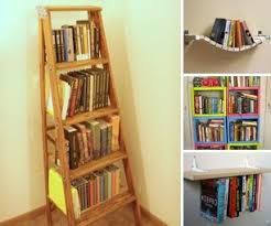 diy bookshelf diy bookcases ladder bookshelf and upcycled furniture