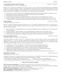 resume examples for management position cover letter sample finance manager resume accounts u0026 finance