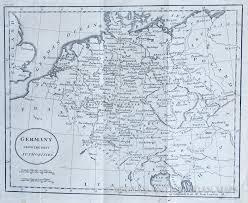 Bohemia Map Map Of Germany And Bohemia 1795