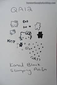 konad stamping nail art hello kitty u2013 new items manicure world blog