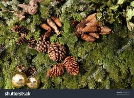 tree decorations decorations pine stock photo