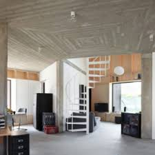 Interior Design In Homes Stylish Concrete Interiors For Contemporary Homes