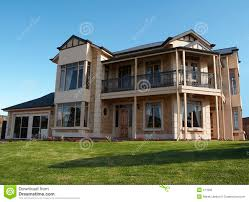 2 storey house modern two storey house stock photos royalty free images