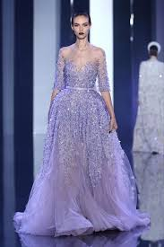 Cheap Gowns 2016 Elie Saab A Line Evening Gowns See Through Sheer Neck Women
