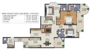 klock tower floor plans