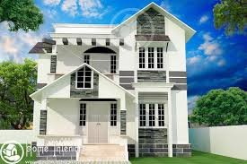 home design for 1500 sq ft 1500 sq ft double floor contemporary home design