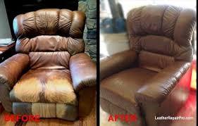 Sofa Repair Cost by Leather Sofa Repair Color Restoration Dye Refinish Leather Sofa