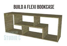 Bookcase Modular Build A Flexi Bookcase U2013 Designs By Studio C