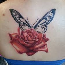 10 best moth rose tattoo images on pinterest roses butterflies