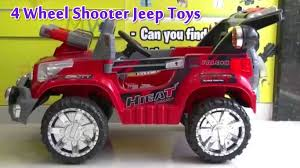 jeep cartoon offroad 4 wheel shooter jeep toys toy review cartoon children army