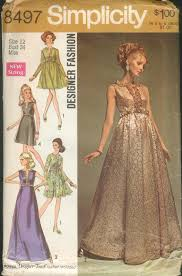 v shaped dress pattern simplicity 8497 vintage sewing patterns fandom powered by wikia