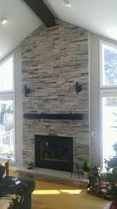 boral echo ridge alpine ledgestone fireplace surround stone