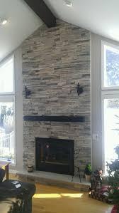 boral echo ridge alpine ledgestone fireplace surround stone fire