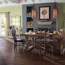 The Home Depot Kitchen Design Pergo Xp Coffee Handscraped Hickory 10 Mm Thick X 5 1 4 In Wide X