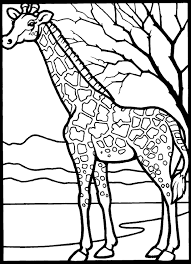 giraffe 999 coloring pages coloring art