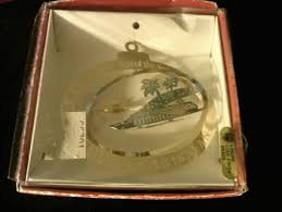 free genuine 24k gold finish brass royal caribbean ornament new