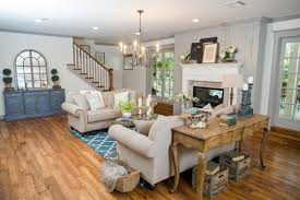 Rustic Chic Living Room by Photos Hgtv U0027s Fixer Upper With Chip And Joanna Gaines Hgtv