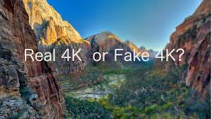 real or fake 4k resolution in action cameras do you identify