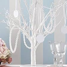 pearl string wedding decoration