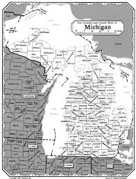State Map Of Michigan by All About Genealogy And Family History File Michigan Jpg
