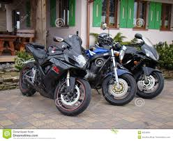 cbr 600 bike three motorcycles sport bike suzuki gs 500 gsx 600 and honda cbr