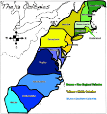 Map Of New England Colonies by The Georgia Colony Was One Of The Original 13 Colonies Lo