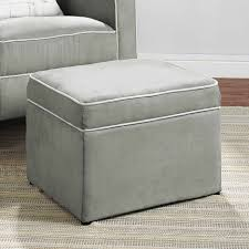Black Ottoman Storage Bench by Ottomans Grey Ottoman Ikea Grey Bench For Bedroom Ottoman With