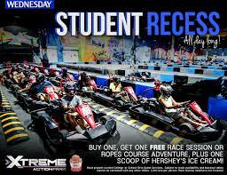 recess student recess xtreme action park