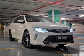 toyota camry price toyota camry hybrid price remains unchanged for 2016 lowyat net