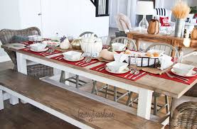 how to make a dinner table how to have a fall dinner party honeybear lane