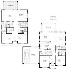 Modern Two Story House Plans Wonderful Double Storey House Plans Home Design Ideas Modern