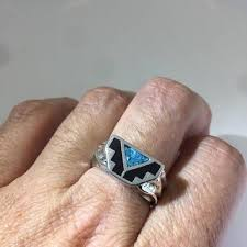 Native American Wedding Rings by Best Men U0027s Turquoise Rings Products On Wanelo