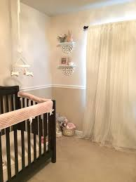 Blackout Curtains For Nursery One Custom Blackout Curtain White Sheer Net Lace Panel Bed