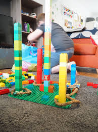 how to set up a lego ring toss game a z play at home the