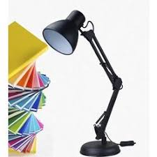 Swing Arm Desk Lamp With Clamp Swing Arm Desk Lamp With Clamp In Black