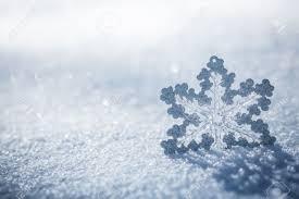 silver christmas silver christmas decoration beautiful snowflake on real snow