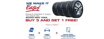 chrysler jeep dodge ram save on tires with ewald chrysler jeep dodge ram ewald cjdr