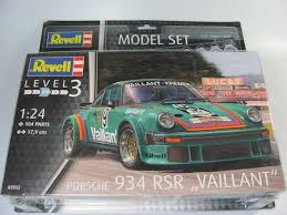 porsche jagermeister porsche 934 rsr set revell car model kit com