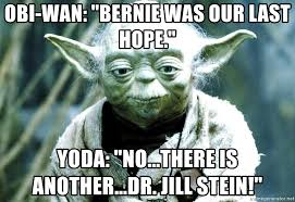 Yoda Meme Creator - obi wan bernie was our last hope yoda no there is another
