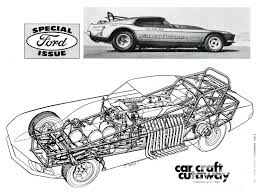 vintage corvette drawing the car craft look rod network
