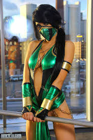 Halloween Costumes Mortal Kombat Ultimate Cosplay Mortal Kombat U0027s Jade Tattoo