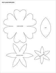 12 printable flower petal templates free download free