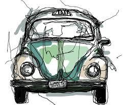 78 best maggiolino volkswagen illustrations images on pinterest