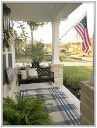 American Flag Rugs From My Front Porch To Yours Farmhouse Front Porch Updates