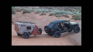 gemini jeep all over rover offroad expedition camp trailer youtube