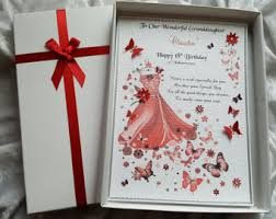 luxury special daughter 18th 21st birthday card handmade