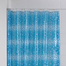 b u0026q blue fizz shower curtain l 1800 mm departments diy at b u0026q